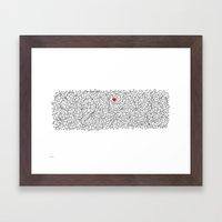 For Steve Framed Art Print