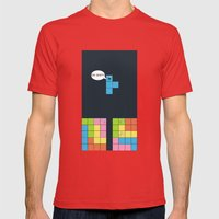 Tetris Mens Fitted Tee Red SMALL
