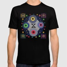 Ferris wheel Black SMALL Mens Fitted Tee