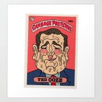 Ted Ooze Art Print