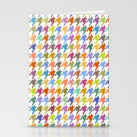 Houndstooth!  Stationery Cards