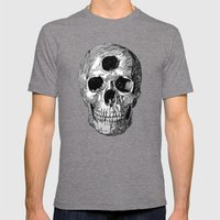 Enlightenment or Suicide Mens Fitted Tee Tri-Grey SMALL