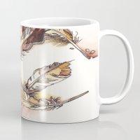 Chipewyan Feathers Mug