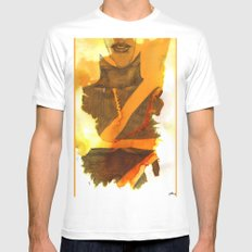 Ms Marvel SMALL Mens Fitted Tee White
