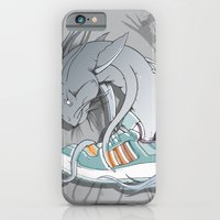 iPhone & iPod Case featuring Sneaker Monster by Ghostsontoast