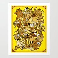 End Of The World Party (… Art Print