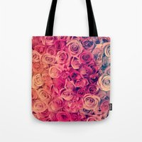 Tote Bag featuring Roses by Msimioni