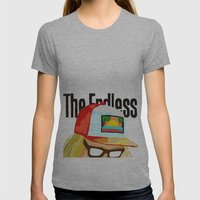 The Endless ONE Womens Fitted Tee Athletic Grey SMALL