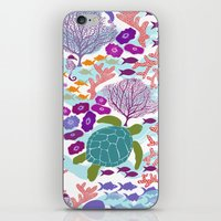 Rush Hour At The Reef - … iPhone & iPod Skin
