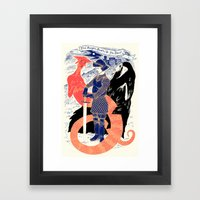 The Knight, Death, & The… Framed Art Print