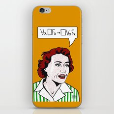 Ruth Barcan Marcus iPhone & iPod Skin