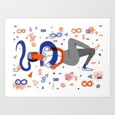 Intertwined 3 Art Print