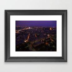Paris At Night 2 Framed Art Print