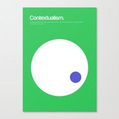 Contextualism Canvas Print