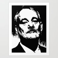 Bill F@#king Murray Art Print