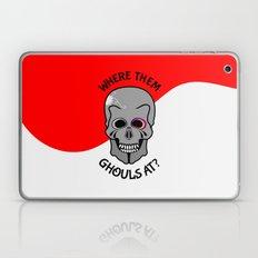 Skull   Where Them Ghoul… Laptop & iPad Skin
