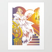 Off To The Ball Art Print