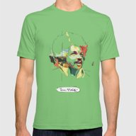 Tim Maia Mens Fitted Tee Grass SMALL