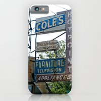 iPhone & iPod Case featuring vintage appliances neon sign ~ Chicago by helene smith photography