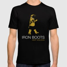 Iron Boots SMALL Mens Fitted Tee Black