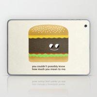 Cheesy Burger Laptop & iPad Skin