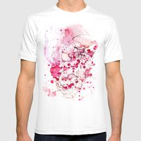 Clown, Mr Eyecandy Mens Fitted Tee White SMALL