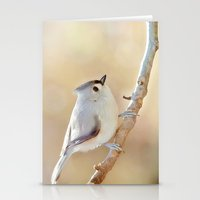 Sunlit Titmouse Stationery Cards