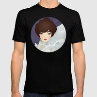 The Wings Of The Dove: V… Mens Fitted Tee Black SMALL