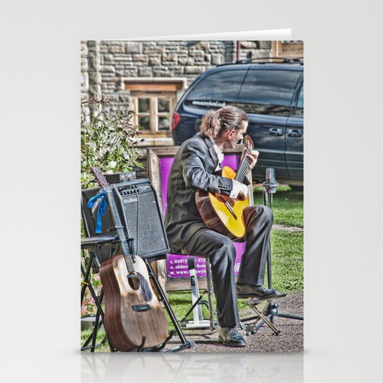 While My Guitar Gently Weeps 2 Stationery Card