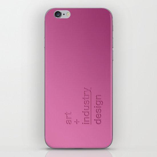 art + industry = design iPhone & iPod Skin