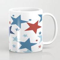 Stars - Red, White and Blue Mug
