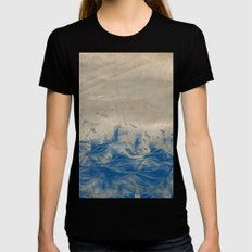 Sea Womens Fitted Tee Black SMALL