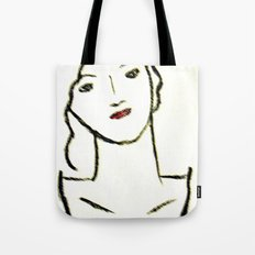 Sketched Tote Bag