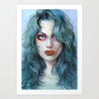 Eliminating Angel Art Print
