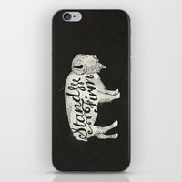Stand Firm iPhone & iPod Skin