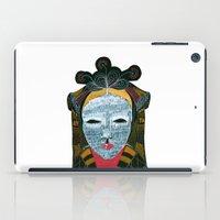 Black MASK iPad Case