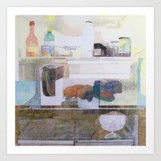 Starving Artist (D.W) Art Print