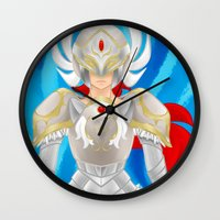 Leora of Valor Wall Clock