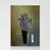 CRZN Dynamic Microphone … Stationery Cards
