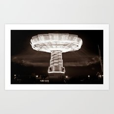 Navy Pier Ghost Riders Art Print