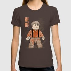 Captain Tightpants (Lego… Womens Fitted Tee Brown SMALL