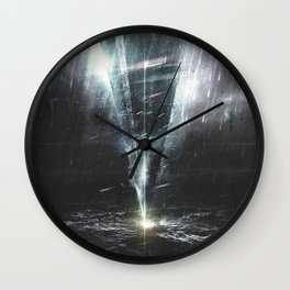 Wall Clock - We come in peace - HappyMelvin