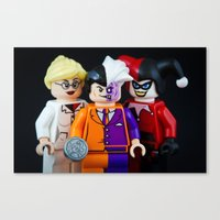 Two Face's Worst Nightmare Canvas Print