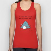 If I Had Arms, I Would P… Unisex Tank Top