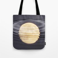 Cold Moon Reflections Tote Bag