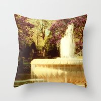 Spring in Tuscany Throw Pillow