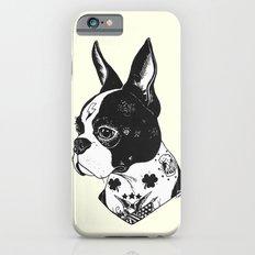 Dog - Tattooed BostonTer… iPhone 6 Slim Case
