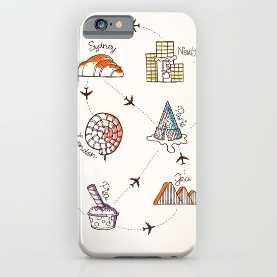 Sweet Travel iPhone & iPod Case