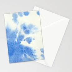 Blue watercolor Stationery Cards
