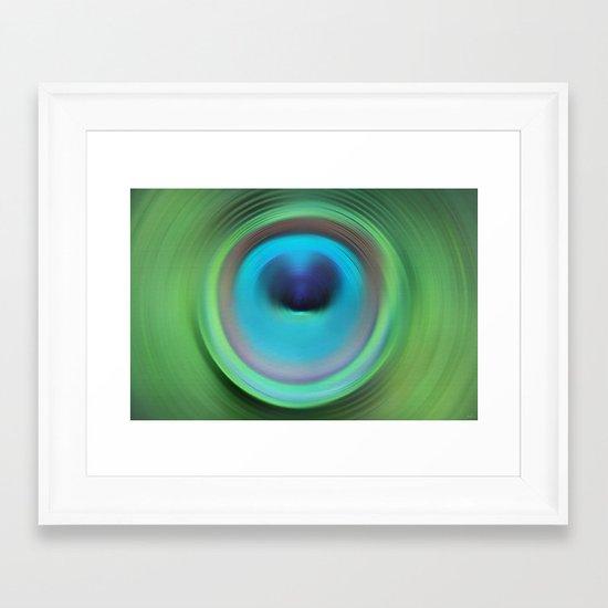 Just Dive Framed Art Print